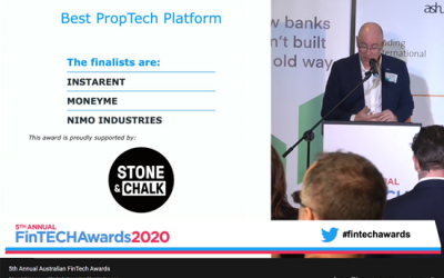 FinTECH Awards 2020 – Finalist